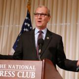 Kevin Cramer fra North Dakota, der skal formulere republikaners energipolitik, tror ikke på global opvarmning.
