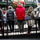 Det er en tradition at Blå Mandag afholdes efter ens konfirmation. Tivoli bliver ofte fyldt op på årets store Blå Mandage. Arkivfoto: Torkil Adsersen/Scanpix 2013
