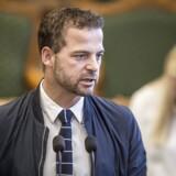 Morten Østergaard (RV) under den udvidede spørgetime i Folketingssalen på Christiansborg i København, tirsdag den 8. maj 2018.. (Foto: Mads Claus Rasmussen/Ritzau Scanpix)