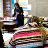 Arkivfoto af skoleelever.