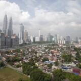 Malaysia's hovedstad, Kuala Lumpur. Arkivfoto.
