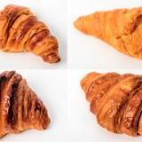 Croissanter fra 7-eleven, Lidl, Juno og Emmerys. Foto: Thomas Lekfeldt.