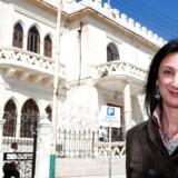Daphne Caruana Galizia, en maltetiske jornalist, blev dræbt af en bilbombe tidligere på året.