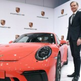 Oliver Blume, topchef i Porsche AG