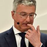 Audis administrerende direktør, Ruper Stadler, ses her til den tyske bilproducents årlige pressekonference i marts 2017. Trods pres for at gå af, blev han alligevel på chefposten, indtil han blev anholdt i dieselgate-skandalen 19. juni i år. »Jeg ser det fra et ansvarsperspektiv. Jeg føler, at jeg som CEO i en svær tid kan og bør yde et væsentligt bidrag,« udtalte han i februar ifølge Süddeutsche Zeitung.