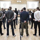 Politifolk varsler blokade mod ansættelsen af politikadetter. Arkivfoto: De første 56 politikadetter bydes velkommen på Politiskolens nye uddannelse i Brøndby 1. marts 2017.