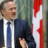 Regeringen vil helt stoppe EU's forhandlinger med Tyrkiet, siger udenrigsminister Anders Samuelsen (LA)