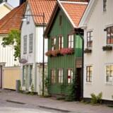 Irisfoto. Ifølge tallene var der 53.109 boliger til salg i marts.