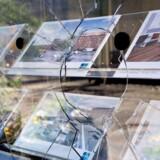 Demonstranter raserede ejendomsmæglere og banker på Nørrebro natten til søndag.