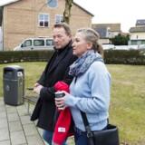 Retten i Nykøbing Falster, hvor Lisbeth Zornig Andersen og hendes mand Michael Rauno Lindholm blev dømt for menneskesmugling.