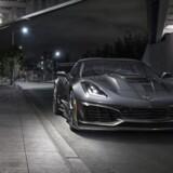 Den stærkeste Corvette nogensinde er den nye ZR1 med 6,2-liters LT5 V8-motor med hele 766 hk og 969 Nm. Topfarten er 336 km/t