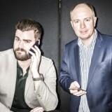 ARKIVFOTO: Morten Strunge (tv), gik sammen med Fullrate-medstifter Peter Mægbæk (th) og startede, Plenti.