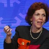 Arkivfoto. Chefen for den amerikanske centralbanks afdeling i Cleveland, Loretta Mester, er 'komfortabel' med at hæve renterne på nuværende tidspunkt, hvis økonomien fortsat udfolder sig på samme måde som hidtil.