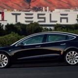 Arkivfoto: Tesla'en kan i Norge blive ramt af en særskilt afgift med op til 70.000 kroner på de tungeste biler.