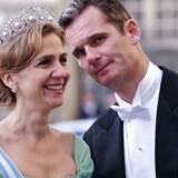 Kong Felipes søster, prinsesse Cristina, som ifølge anklageskriftet har bistået sin mand med skattesvindel.