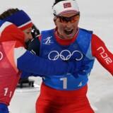 Marit Bjørgen har nu 13 vinterolympiske medaljer, hvilket kun Ole Einar Bjørndalen kan matche. Scanpix/Christof Stache
