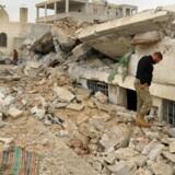 Selv om IS er trængt, tilskynder gruppen fortsat angreb på globalt plan, konkluderer FN-rapport. REUTERS/Ammar Abdullah