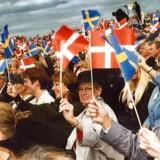 Åbningen af Øresundsbroen den 1. juli 2000. Arkivfoto: Scanpix (Søren Bidstrup)