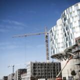 Arkivfoto. Der bliver bygget, bygget om og bygget til i Danmarks store byer. Etagevis af ejerlejligheder begynder så småt at stå færdige og klar til indflytning.