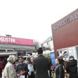 Enhedslisten holder årsmøde i Korsgadehallen i København fredag den 27. april 2018. På årsmødet skal der blandt andet vælges spidskandidater til folketingsvalg og EU-parlamentsvalg, samt debatteres EU og miljø årsmødet finder sted i perioden 27-29. april. (Foto: Philip Davali/Ritzau Scanpix)