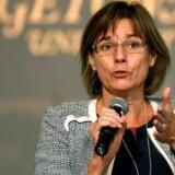 Arkivfoto: Klima- og bistandsminister Isabella Lövin fra Miljöpartiet (MP).