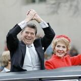 »Vi bør lytte til Reagan, for Reagan havde forstået, at man kun gennem et stærkt forsvar kan forsvare sine borgeres frihed og rettigheder.« Foto: Scanpix.
