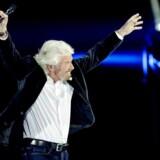 Stifteren af Virgin Group, Richard Branson, træder på scenen som en sand business-superstar for at give en inspirationstale til hollandske iværksættere i Amsterdam i oktober 16. Branson har ADHD og er stærkt ordblind.