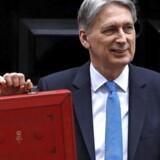 Den britiske finansminister Philip Hammond har præsenteret et budget, der også spiller en presbold ind i de danske rammevilkår i Nordsøen. Foto: Peter Nicholls/Reuters