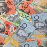Den australske dollar er tirsdag eftermiddag styrket over for sine modparter, efter at landets centralbank har valgt at holde renten i ro. Foto: Iris