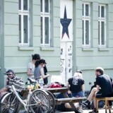 Det autonome kollektiv Bumzen i Baldersgade. (Foto: Scanpix/Scanpix 2017)