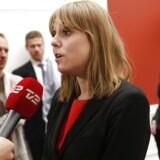 Arkivfoto: Socialdemokratiets retsordfører, Trine Bramsen, mener ikke, at tiden er til at stoppe kontrol ved grænsen.