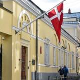 Den danske ambassade i Moskva.