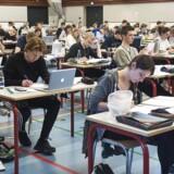 Et nyt monitoreringssystem skal fra 2019 overvåge elevernes computerskærme på alle landets gymnasier. Arkivfoto fra Virum Gymnasium.