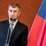 Tjekkiets premierminister, Andrej Babis.