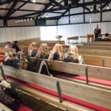 ARKIVFOTO: Konfirmationsforberedelse i Hald Ege Kirke.