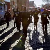 Arkivfoto fra politiaktion på Christiania. Foto: Nils Meilvang/Scanpix 2014.
