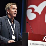 Her ses 3F formand Per Christensen. (Foto: Henning Bagger/Scanpix 2016)