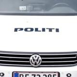 Arkivfoto: Overfaldet skete ved Højeloft Vænge i Værløse, og politiet afspærrede et område frem til klokken 10.30 om formiddagen for med hunde at lede efter spor.