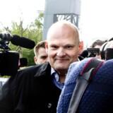 Erik Skov Petersen ankommer til retten i Lyngby. Arkivfoto: Bax Lindhardt