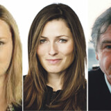 Ditte Giese Journalist, blogger og forfatter, Anne Sophia Hermansen Pressechef og blogger og Arno Victor Nielsen, Filosof.