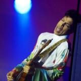 Der var var fotoforbud til gårsdagens koncert i Oslo. Så her ses Prince på sidste års Roskilde Festival.
