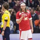 Mikkel Hansen spillede en god kamp, da Danmark vandt 36-26 mod Slovenien fredag aften