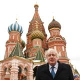 Udenrigsminister Boris Johnson gentager, at byen Jerusalem skal være en del af en tostatsløsning.