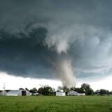 Arkivfoto: Oklahoma rammes jævnligt af tornadoer. Det skete blandt andet også 9. maj, hvor en tornado ødelagde flere bygninger i det sydlige Wynnewood.