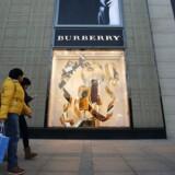 Burberry i Beijing.
