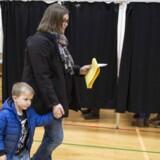 Da valgstederne havde været åbne i fire timer, havde knap 21 procent af vælgerne stemt til kommunalvalget.