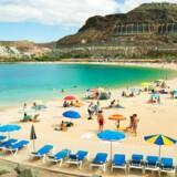 Amadores beach, Gran Canaria.