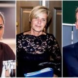 Mai Mercado, Mette Bock og Kristian Jensen.