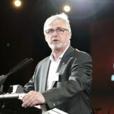 (ARKIV) Tonni Hansen på SF's landsmøde i weekenden 18-19 april 2015 i Falkonercenteret på Frederiksberg. Han er ny borgmester i Langeland Kommune (Foto: Simon Skipper/Scanpix 2017)