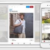 Sådan ser den nye købeknap ud i Pinterest. Foto: Pinterest